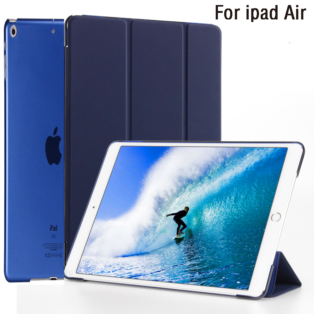 New Hot Case For IPad Air Model A1474 A1475 A1476 Retina Cover,Ultra Slim Auto Sleep Cover For Ipad Case Air 2013 Release