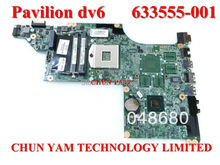 633555-001 for HP Pavilion DV6 DV6-4000 series laptop motherboard HM65 DA0LX3MB8F0 REV:F mainboard 100% tested 90 Days Warranty