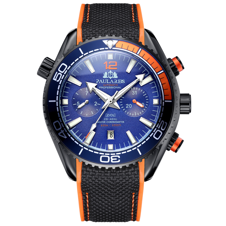 Black Orange Blue