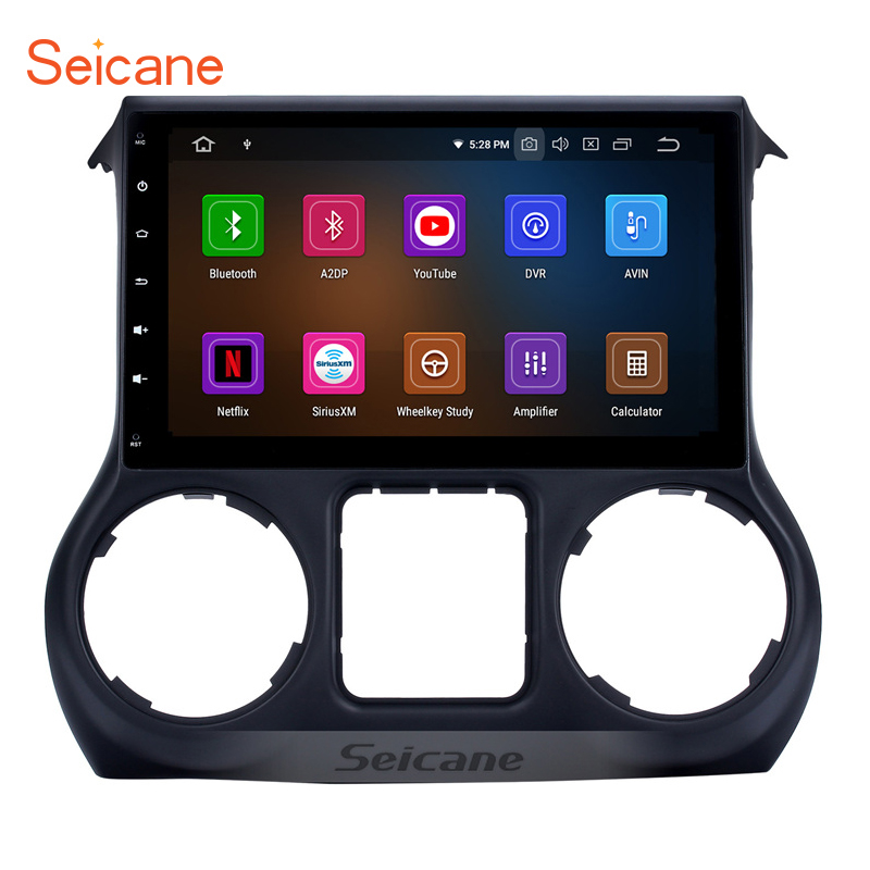 Seicane 10 1 8 core 1 DIN Android 9 0 Bluetooth GPS Car multimedia Stereo for
