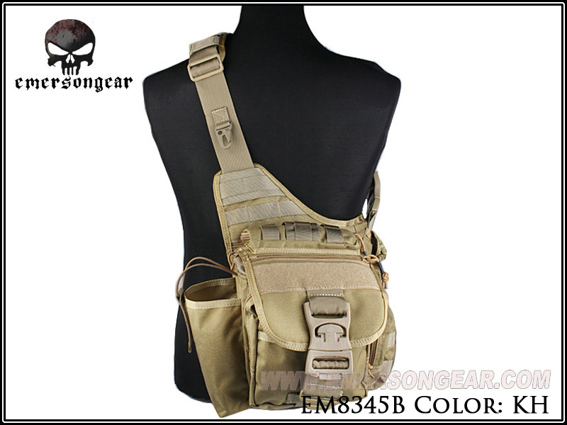 Emerson Outdoor Tactical Backpack Military Sport Pack Camping Trekking Sling Bag Chest Bags Hunting Accessories EM8345 Khaki laari prosper a a duker and frank osei badu spatial analysis of malaria amansie west ghana