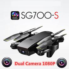 SG700-S 1080P Camera Drone With Camera Dron Follow Me Drones Quadrocopter Altitude Hold FPV Quadcopter RC Helicopter VS X12 E58