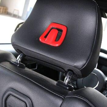 Para coches MOPAI Interior de ABS, almohadilla de almohada, gancho decorativo, pegatinas de cubierta embellecedora para Ford Mustang 2015, estilo de coche