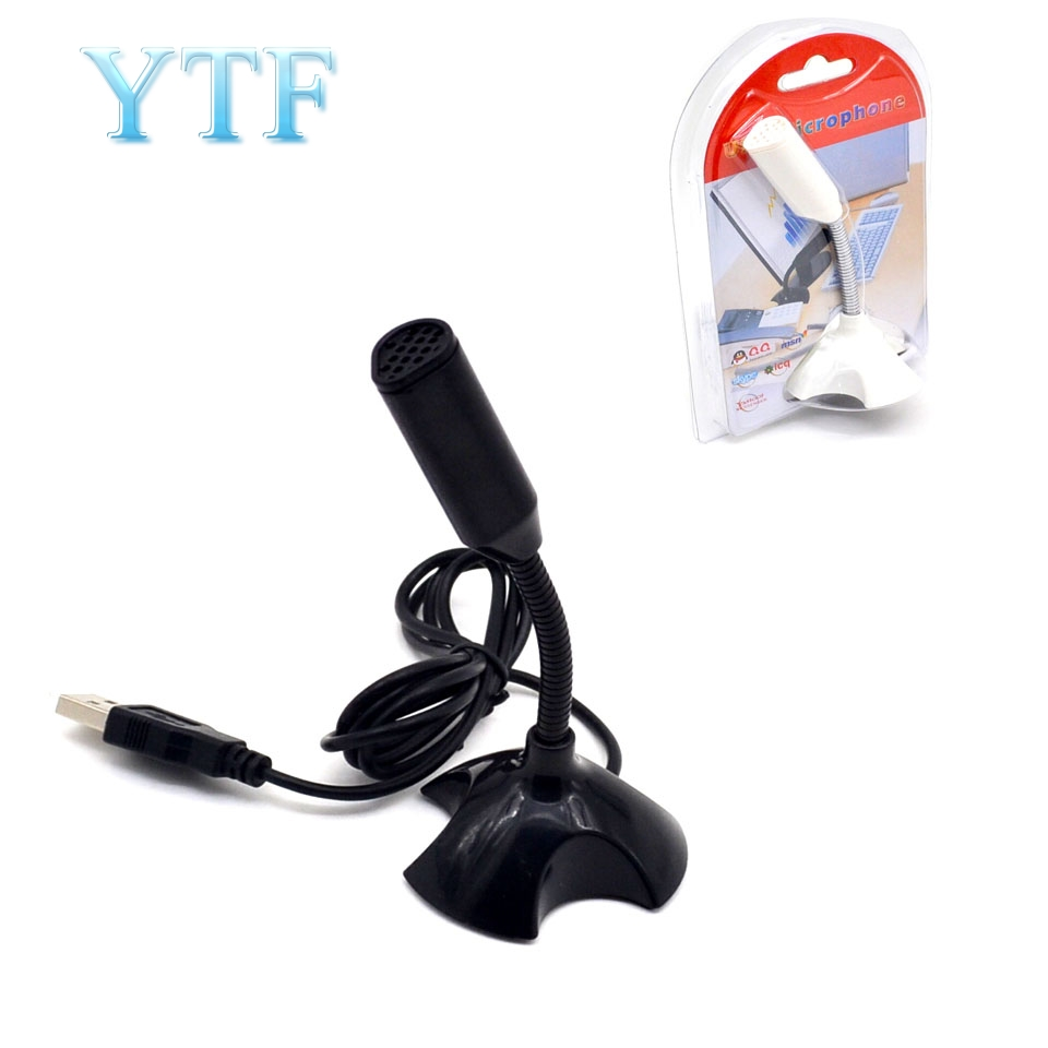 1pcs USB Microphone For Raspberry Pi 2 3 Model B Mic Portable With Holder Free Drivers Black