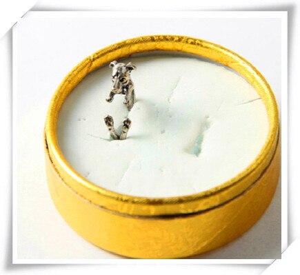 Фото 1 шт новинка оптовая продажа итальянское кольцо greyhound в
