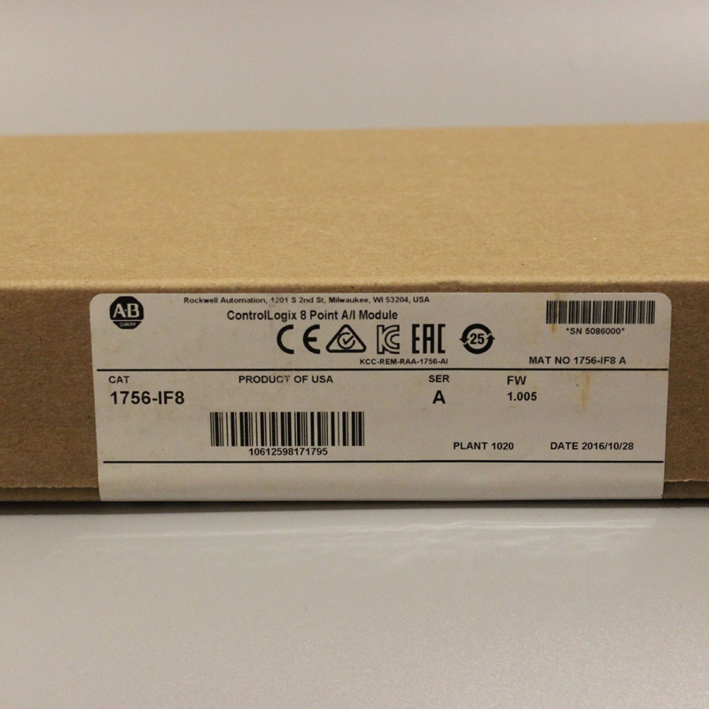 1756 IF8 1756IF8 PLC Controller New Have in stock