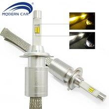 MODERN CAR LED Headlight Bulbs H7 H4 H1 H11 9005 9006 Car Front Fog Lamp Led