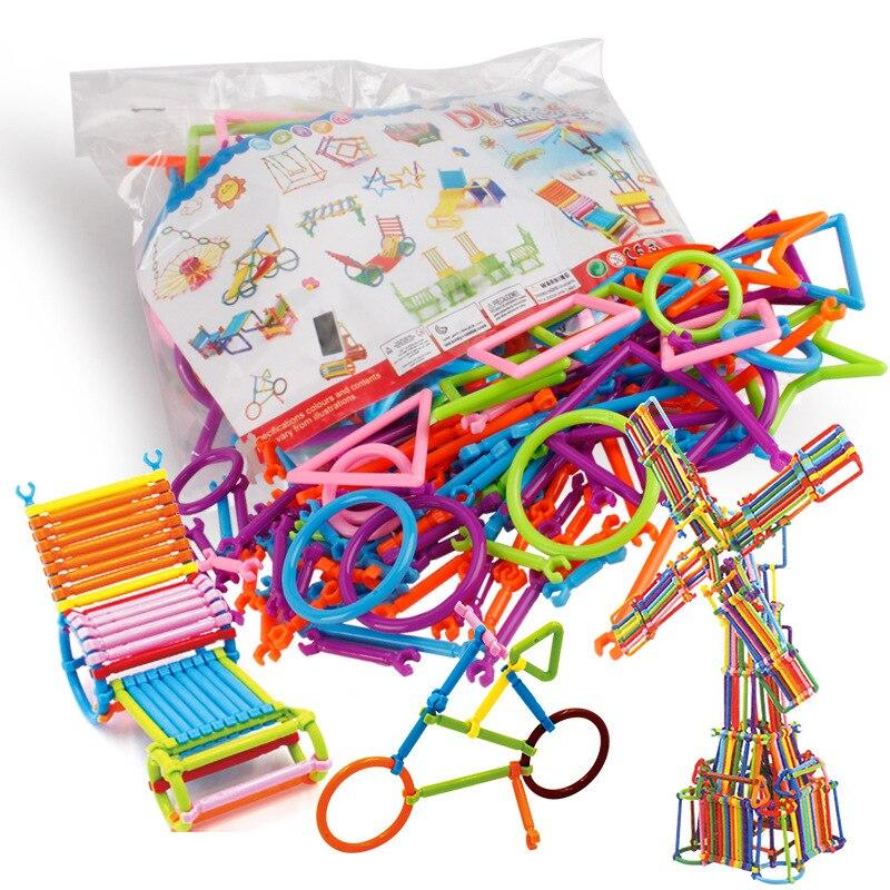 200 Pcs Magie Smart Stick Bausteine Kunststoff Rechtschreibung Montage Puzzle Spielzeug Kindergarten Kampf Spleißen Spielzeug Blöcke
