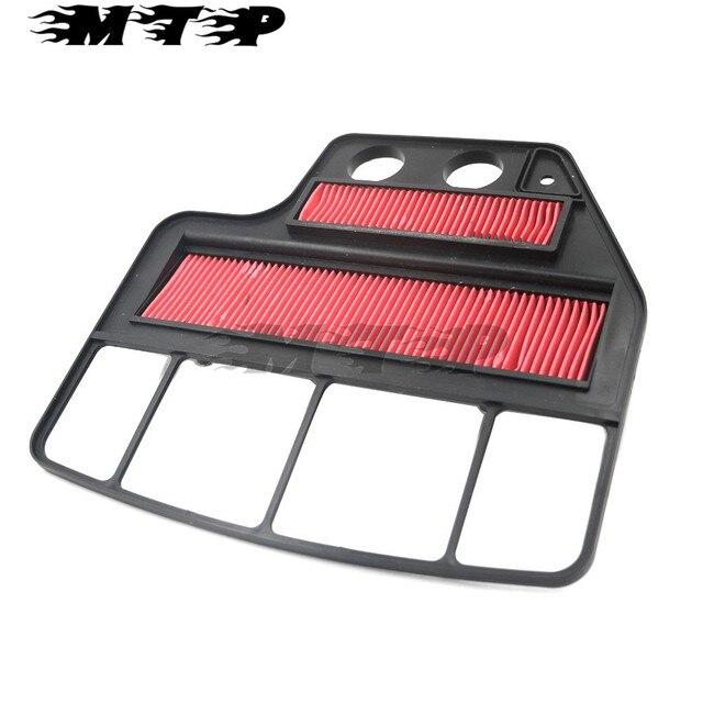 Motocicleta motorbike air filter cleaner intake filtro filtrator filtro de ar para honda cbr400 nc23 1988-1989