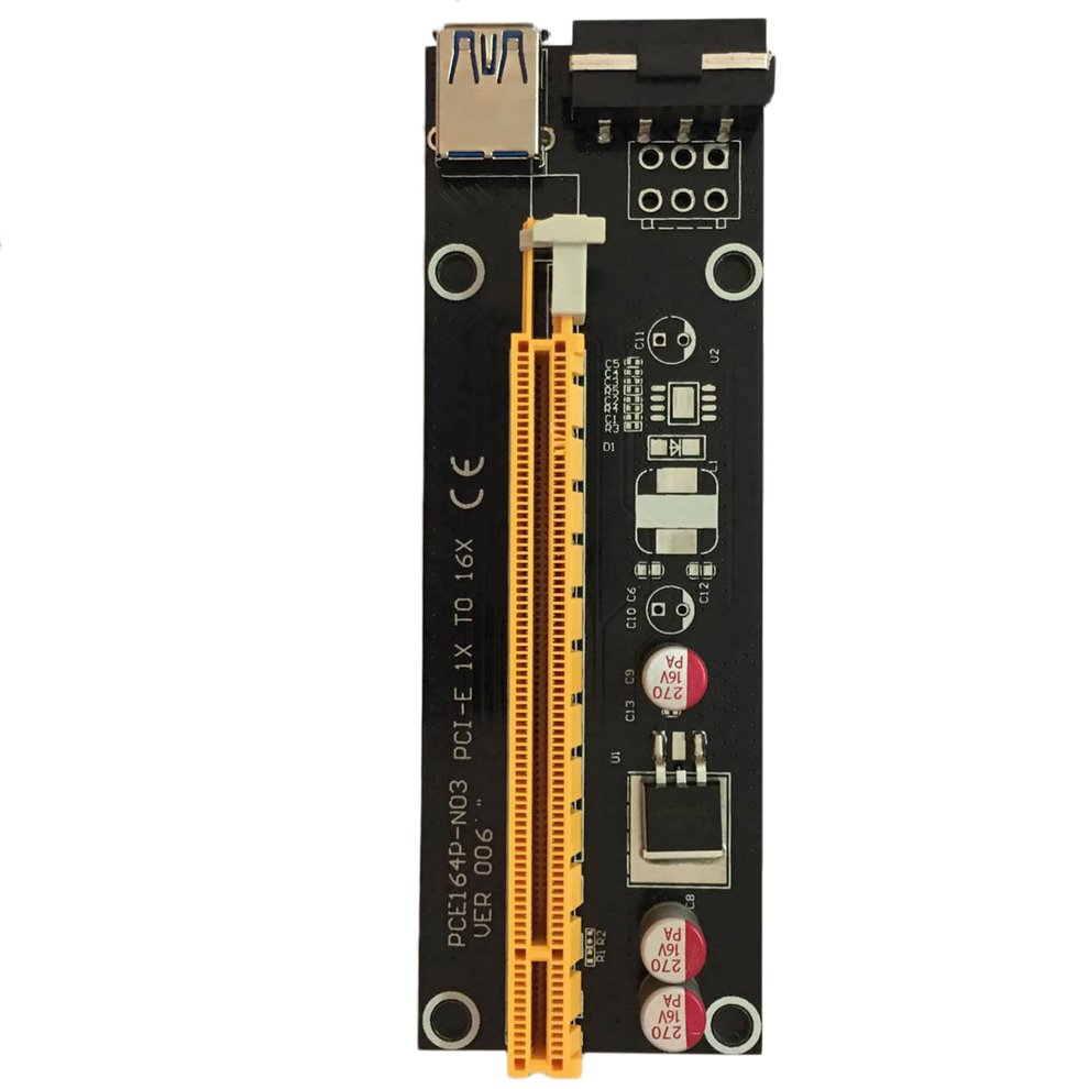 10pcs PCI-E PCI Express 1X to 16X Riser Card USB 3.0 SATA to 4Pin IDE Power Cord 10pcs 2sa1145 a1145y to 92l