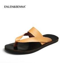c2a9f8e7f Flip Flops Sandálias Homens chinelos de Verão Sapatos Para Sapatos Casuais Seaside  Beach Slides Respirável Apartamentos