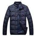 Angelo galasso wadded chaqueta de algodón acolchado chaqueta ropa hombre comercial de moda cómoda ropa de abrigo envío gratis
