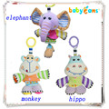 Mamas papas stroller music toy baby hanging toys plush rattle baby bed bell rainbow bells baby rattles newborn toys teether