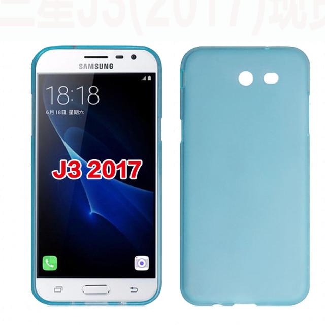 samsung j3 2017 carcasa azul
