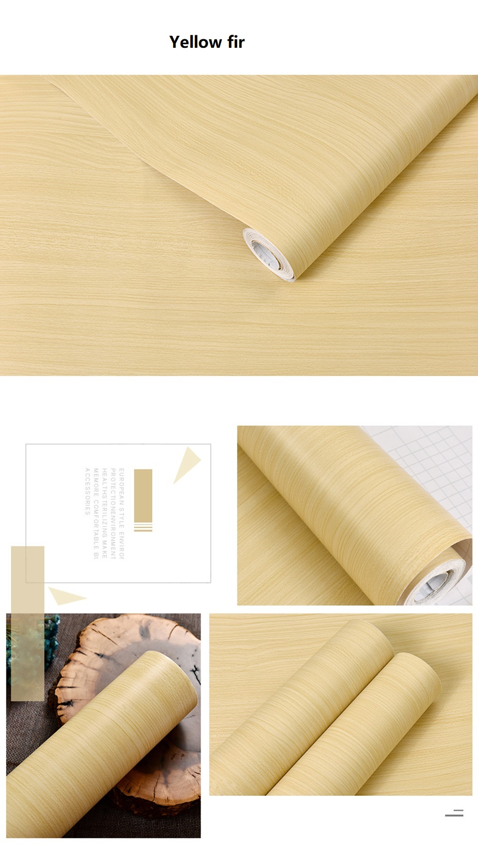 PVC Vinyl Wood Grain Contact Paper for Kitchen Cabinets Table Sticker Waterproof Self adhesive Wallpaper Phone Case Stickers HTB1yb8Fh7KWBuNjy1zjq6AOypXaD