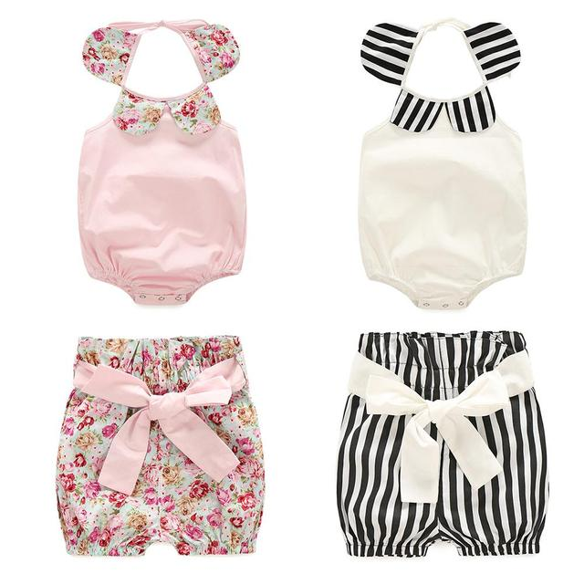 066362310 baby girls clothing set summer boutiques baby girls vintage floral ...