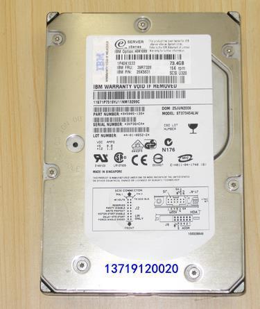 3 года гарантии 100% Новый и оригинальный 36 Г 10 К SCSI 90P1304 90P1308