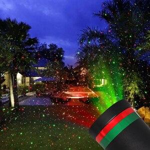 Image 3 - LED étanche extérieur scène lumière jardin arbre projecteur Laser mobile fête de noël décoration de la maison effet lampe