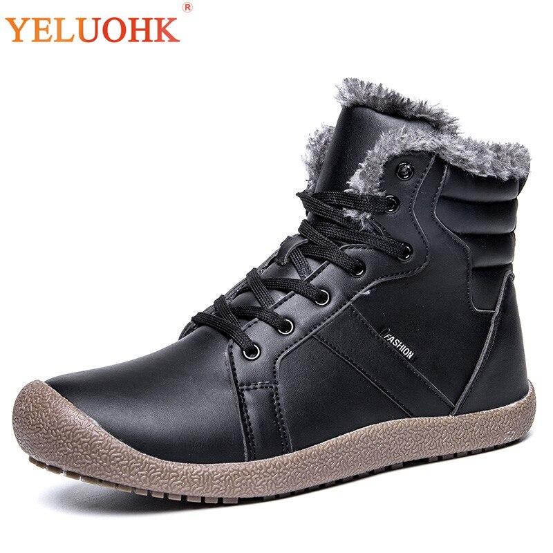 74083218084c CHEAP 38-48 Winter Boots Men Big Size Men Winter Shoes Plush Warm ...