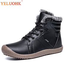 hot deal buy 38-48 winter boots men big size men winter shoes plush warm winter men boots work shoes safety