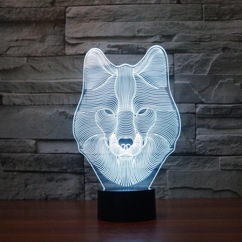 Luzes da Noite lights 7 cores mesa de Fonte de Luz : Lâmpadas Led