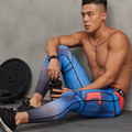 3D Impresso Padrão de Compressão Calças Justas Calças Dos Homens 2016 Gymshark Sweatpants Magros Leggings Calças de Fitness Masculino Pano 2017
