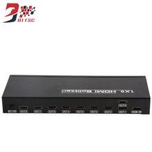 Processador De Vídeo Wall SZBITC 4 K Splitter HDMI 1X9 Porta HDMI Distribui 1 em 9 Para HDTV, TV, DVD, PS3, computador, multimídia