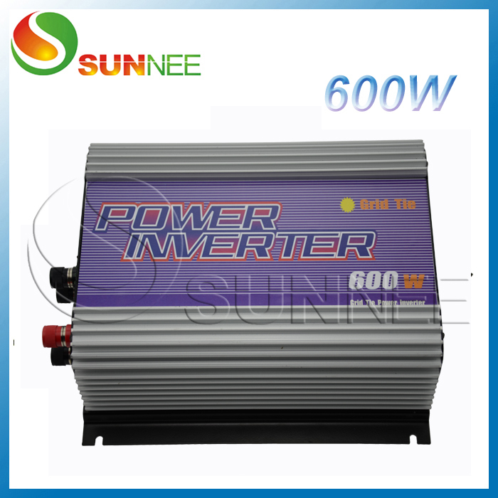 600W on grid tie wind inverter for 600w wind turbine generator, single phase inverter input 10.8~30V/22~60V, output 115V~230V maylar 300w wind grid tie inverter for 3 phase 24 48v ac wind turbine input 22 60v output 90 260v 50hz 60hz no need controller