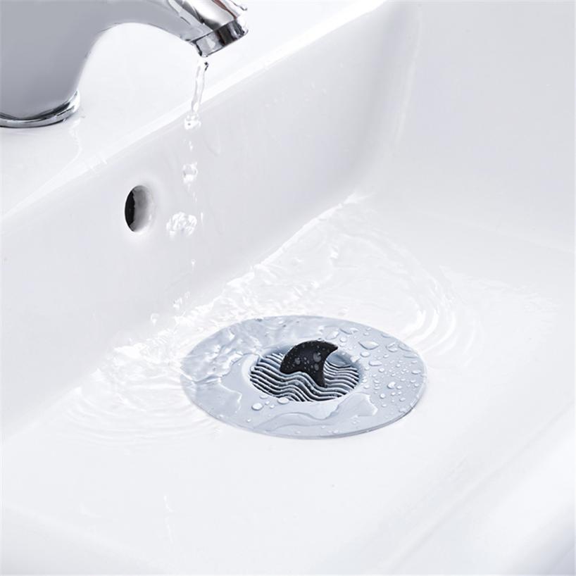 Kitchen Floor Drain Trap: Kitchen Bathroom Floor Sink Drain Filter Wave Stopper Hair