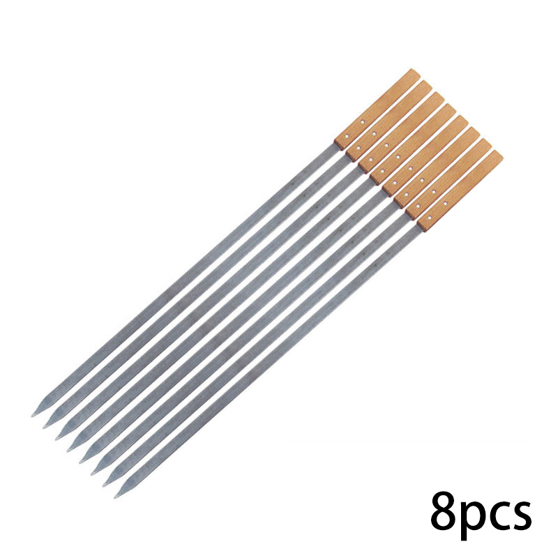 Large Long BBQ Skewers 60cm 1