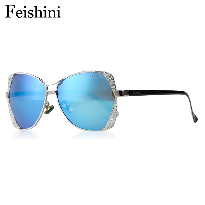 FEISHINI Marke Designer Fashion Eyewear Gradient Vintage Sonnenbrille - Bekleidungszubehör - Foto 4