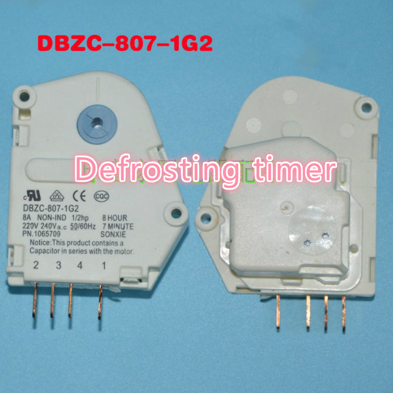 Original brand new applies Haier Refrigerator defrost timer DBZC-807-1G2 Defrosting timer 2pcs lot for double door refrigerator defrosting temperature sensor 5k defrosting insurance 45cm