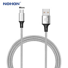 Original NOHON Micro USB Cable Fast Charger Data Sync Cable For Samsung Xiaomi Nokia LG Huawei Android Mobile Phone USB Cables(China)