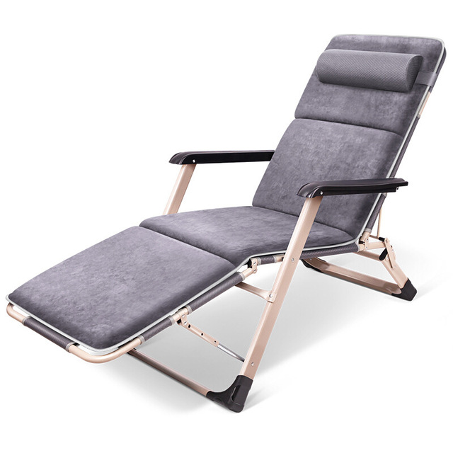 Leisure Recliner Folding Bed Chair Siesta Chair Office Lazy Backrest Easy  Chair Lounge Patio Outdoor Yard