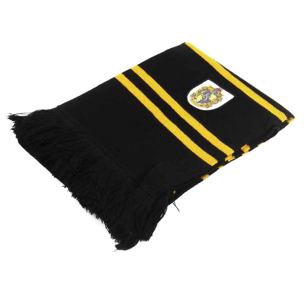 200*24cm College scarf Gryffindor Series scarf With Badge Personality Cosplay Knit accessary big size