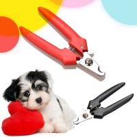 1 Pcs Red Brand New Cheap Pet Animal Dog Cat Nail Clippers Scissors Pet Toe Care