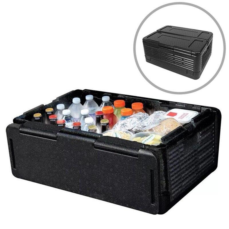 Outils d'extérieur Portable incubateur pliant pique-nique extérieur 60L grande capacité boîte de rangement Thermostat alimentaire voiture réfrigérateur