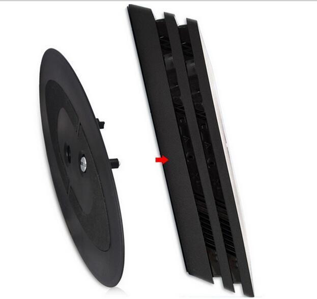 PS4 Pro PS4 Slim Universal 2-in-1 Vertikal Berdiri Dock Gunung Non-slip Cooler Cradle Holder Dukungan untuk PS4 Pro & PS4 Slim Console