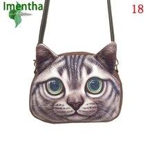 2017 słodkie 3D kot torby crossbody dla kobiet torby na ramię lady dziewczyna małe torebki i torebki party kobiety messenger torba kobiet torba