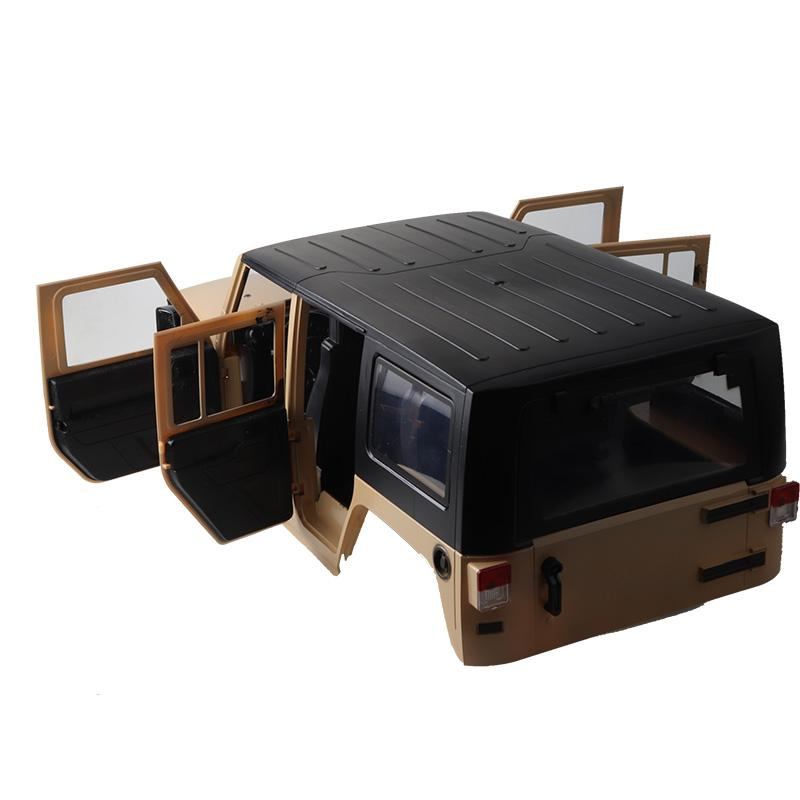 1:10 Car Shells Body Frame 313mm Wheelbase Emulational Climbing Car SCX10 RC4WD D90 D110 Car Shell KIT - 3