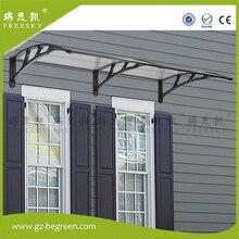 YP100200 100cmx200cm 100x300cm 100x600cm door canopy window awning for balcony garden gazebo patio cover sun shape rain shelter