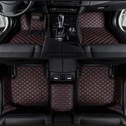 Dywaniki samochodowe do BMW e30 e34 e36 e39 e46 e60 e90 f10 f30 x1 x3 x4 x5 x6 1/2/3/4/5/6/7 akcesoria samochodowe samochód stylizacji niestandardowe podkładki pod stopy w Dywaniki od Samochody i motocykle na