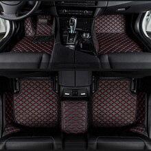 Auto fußmatten für BMW e30 e34 e36 e39 e46 e60 e90 f10 f30 x1 x3 x4 x5 x6 1/2/3/4/5/6/7 auto zubehör styling Benutzerdefinierte fußmatten