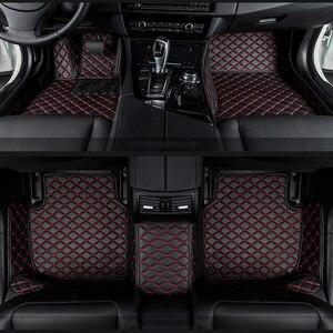 Image 1 - car floor mats for BMW e30 e34 e36 e39 e46 e60 e90 f10 f30 x1 x3 x4 x5 x6 1/2/3/4/5/6/7 car accessories styling Custom foot mats