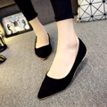 Women Ballet Flats Spring Autumn Candy Color Pointed Toe ballerina flat Shoes Woman Loafers Shallow Slip on Boat Shoes 2807