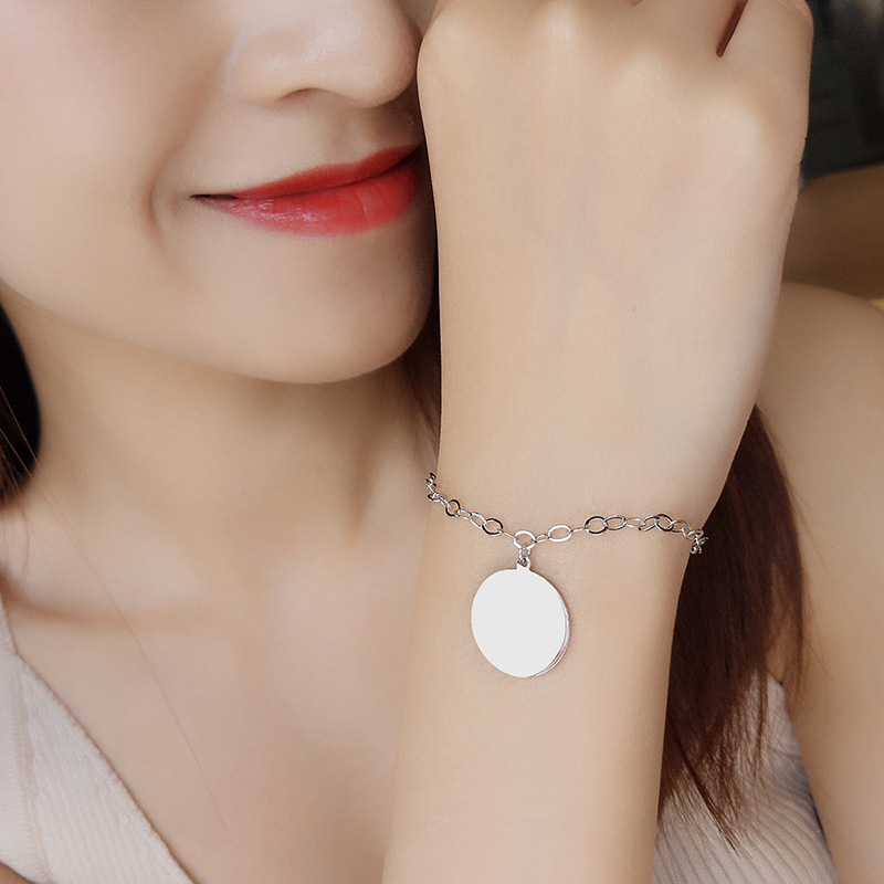 ZTUNG  MYSP28  fashion and simple round shape bracelet,925 silver lady jewelry for daily wearZTUNG  MYSP28  fashion and simple round shape bracelet,925 silver lady jewelry for daily wear