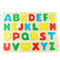 English alphabet Jigsaw Kids Wooden Educational Toys for Children Baby Intelligence jouets pour enfants Toys Toy 3D Puzzle развивающие игрушки для детей W137