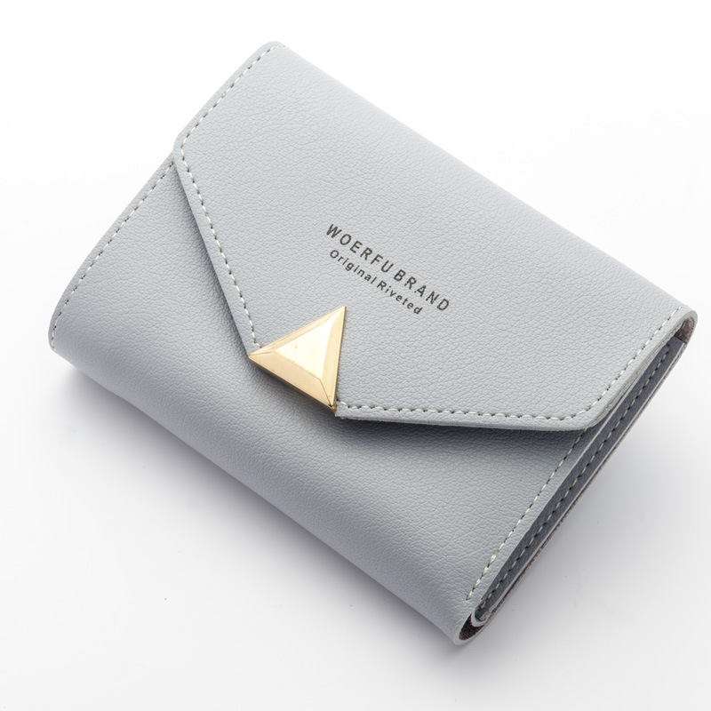 New Women Wallet PU Leather Female Short Card Holder Coin Purse Girl Brand Mini Billfold Purse Ladies Carteira Fashion Wallets 2017 hottest women short design gradient color coin purse cute ladies wallet bags pu leather handbags card holder clutch purse