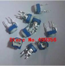 20pcs RM065  Variable Resistor  RM-065 202    2K     Horizontal