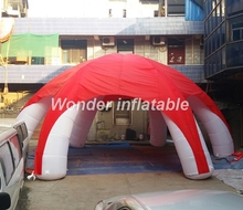 Most popular 10mD oxford multifunctional giant spider inflatable dome tent for exhibition
